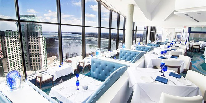 The Watermark Rooftop Restaurant Offers Brilliant Views Of Both American And Canadian Falls