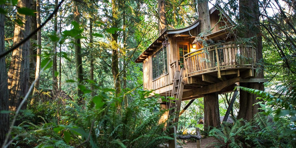 9 Treehouse Hotels That Will Make You Feel Like A Kid Again