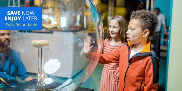 Discovery Children's Museum, a three-story, 58,000-square-foot interactive facility, has been recognized statewide and nationally for quality children's programming and creative education.