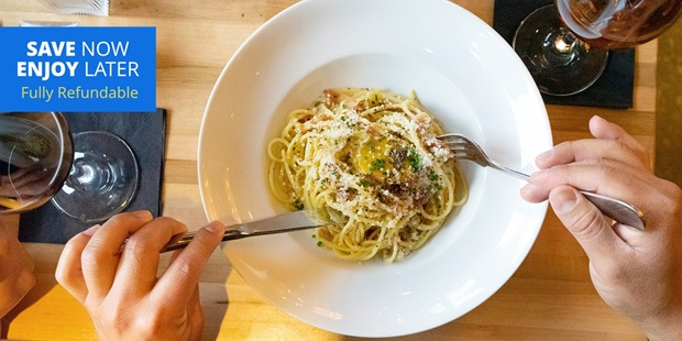Casati's, a modern Italian restaurant, is considered among the 10 places everyone's talking about and dining at (Chicago Magazine) — we've negotiated this deal so you can dine in if the restaurant is open or order takeout to eat from the comfort of home.