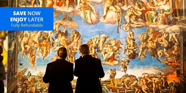 Michelangelo's Sistine Chapel: The Exhibition brings his masterpieces to the Mall of America in near life-sized photographic reproductions. And with travel mostly on hold, save over 55% on admission even without having to get on a plane (FOX 9 KMSP).