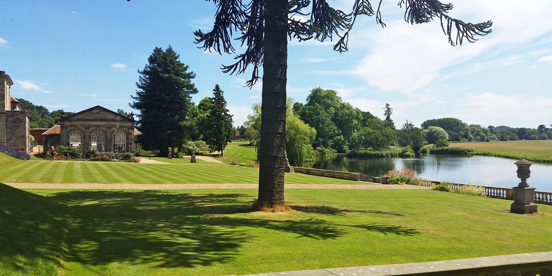 Stoneleigh Abbey: afternoon tea & garden entry for 2