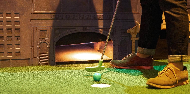 $19 & up – Urban Putt Mini Golf with Dinner Upgrade Option