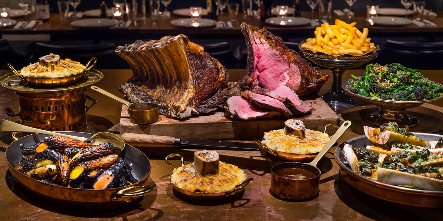 Hawksmoor Manchester: 5-course menu & paired wines