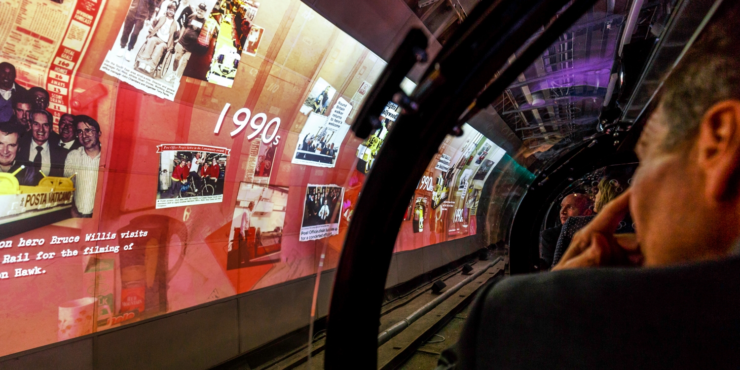 London: The Postal Museum w/underground Mail Rail ride