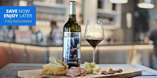 Enjoy the modern feel of this new boutique wine bar while sampling handcrafted wines from McClain Cellars, located in the trendy arts district of Laguna Beach.