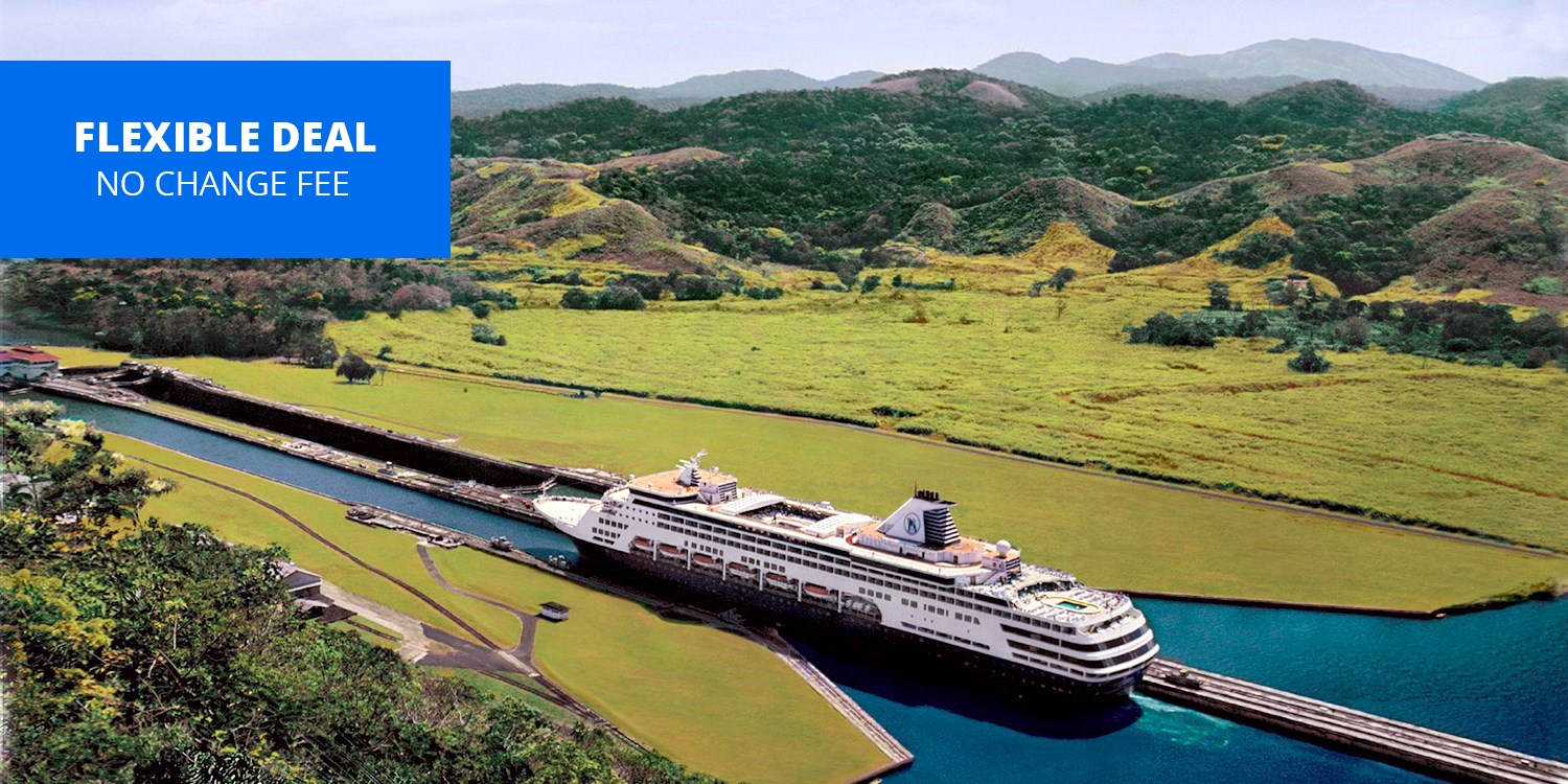 $1649 & up -- 17-Night Panama Canal Cruise: Fort Lauderdale to Chile