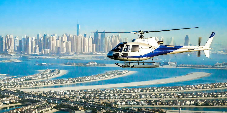 Dubai: Urlaub im 4*-Hilton mit Heli-Flug, -150 €