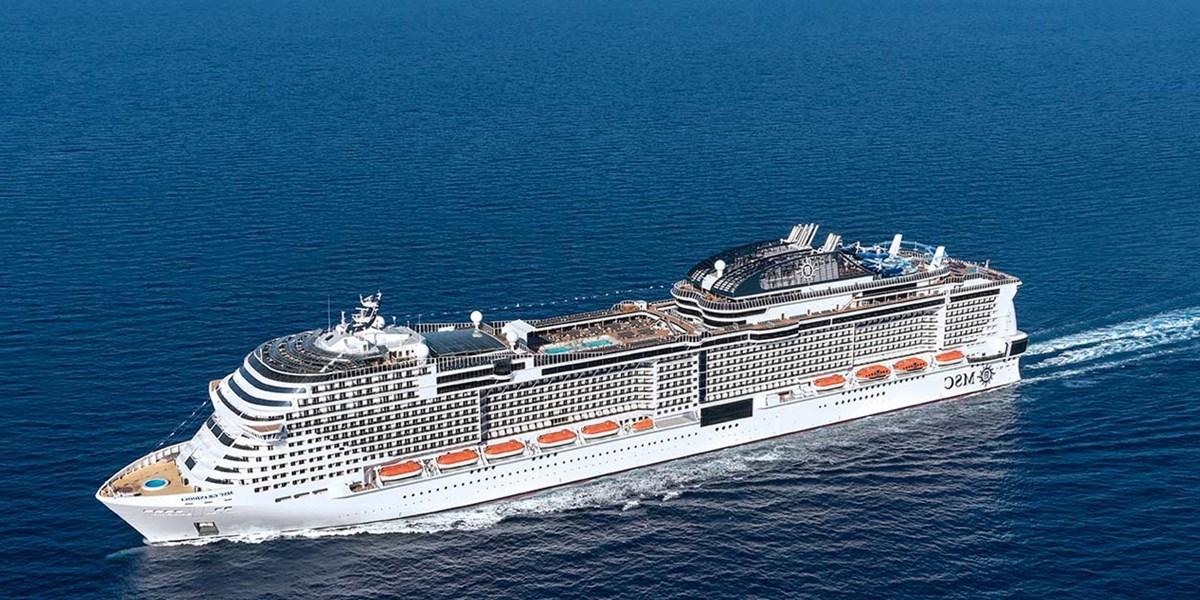 Mittelmeer mit Show vom Cirque du Soleil at Sea