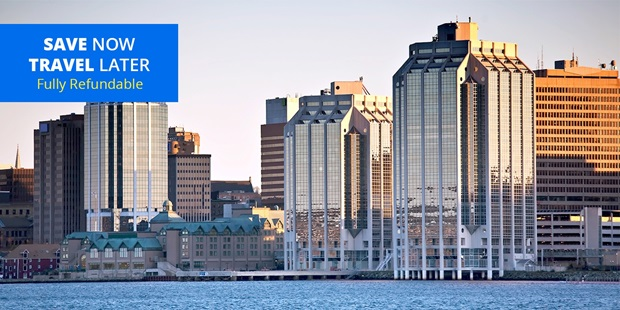 Explore the historic seaside town of Halifax with stays through December that save over 35% on regular prices and include a late checkout.