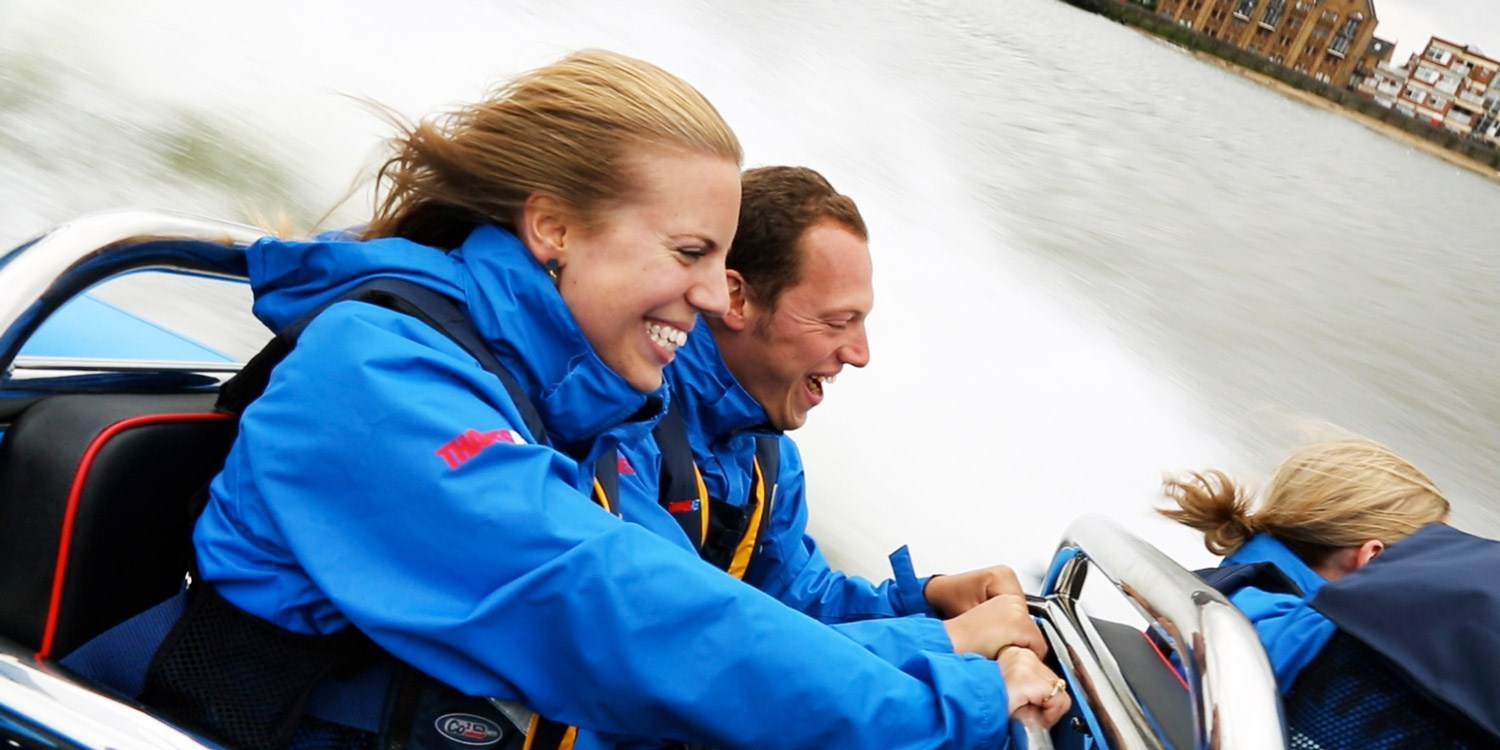 High-speed Thames boat ride for 2, was £78
