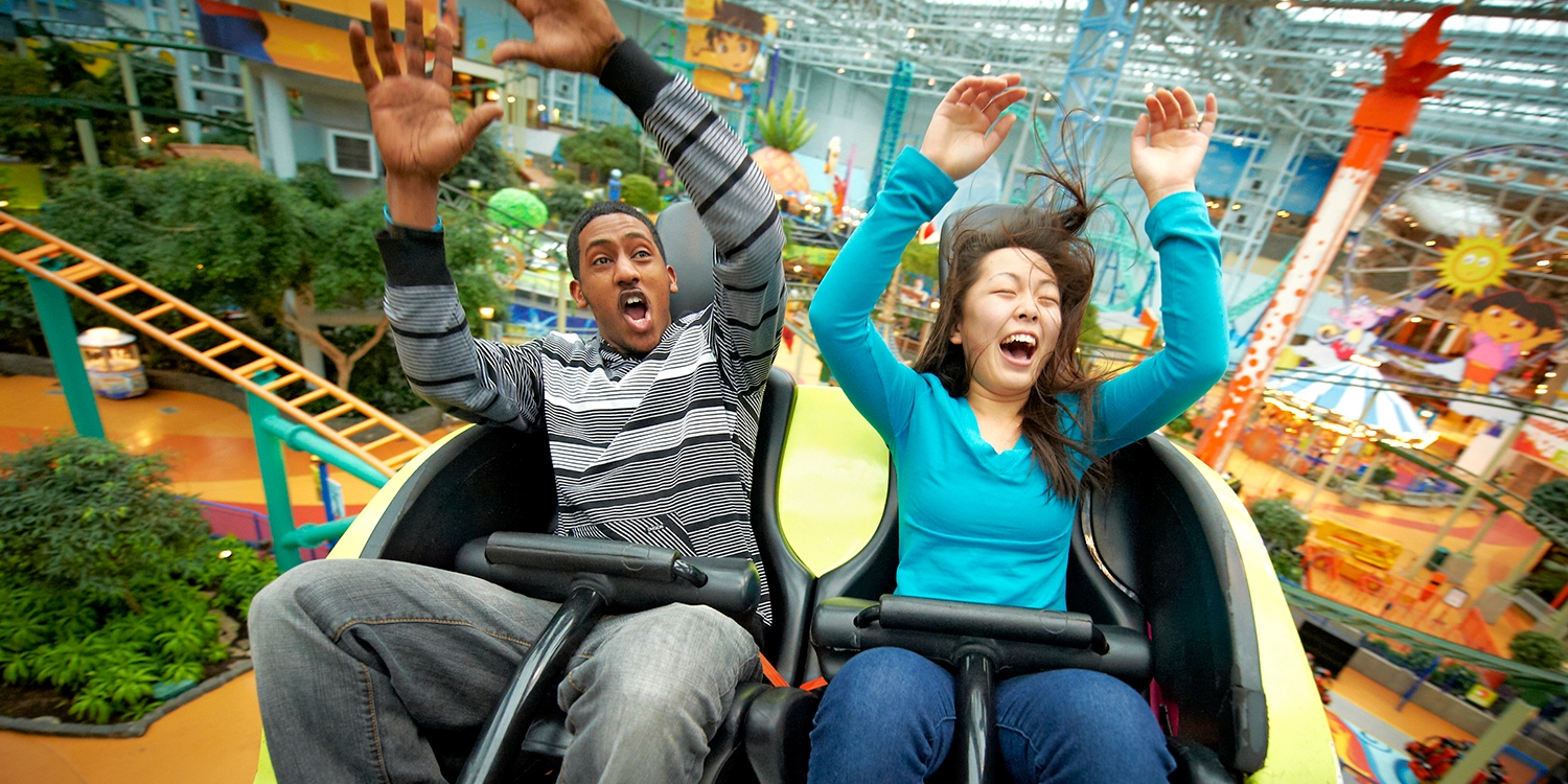 $28 – Nickelodeon Universe at MOA: Unlimited Ride Wristband