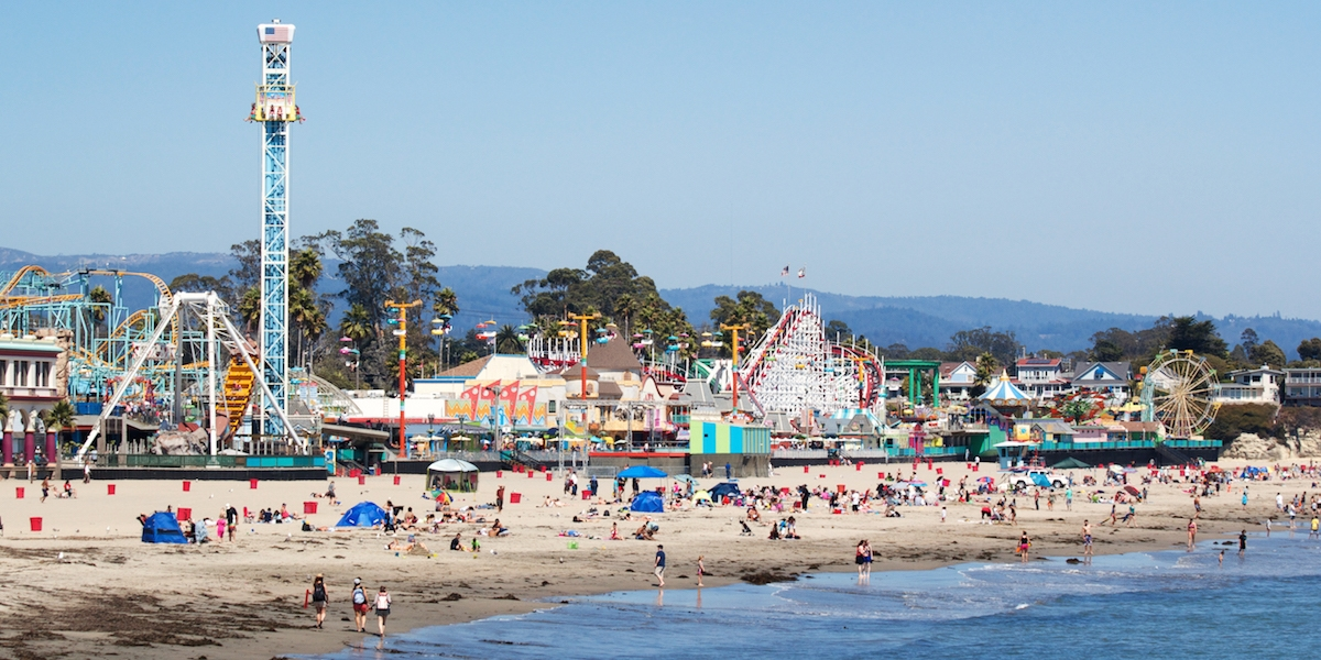 Santa Cruz Beach Boardwalk Rides