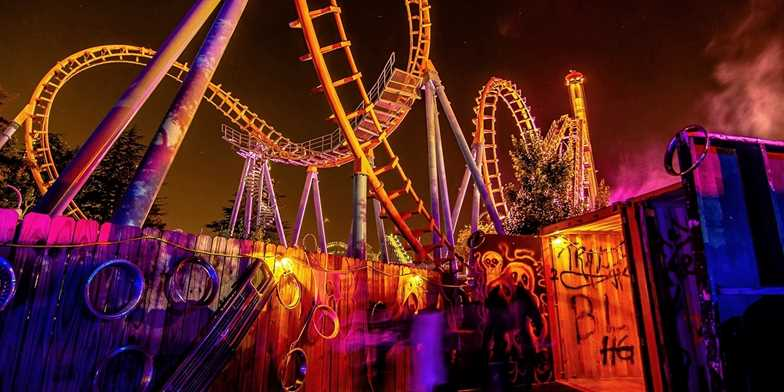 Carowinds or Scarowinds Admission into October   Travelzoo on halloween map, knott's scary farm map, starbucks map, printable map of arden nc on map, sobe map, 2012 canada's wonderland map, carowinds map, dorney park map, paramount canada's wonderland map,