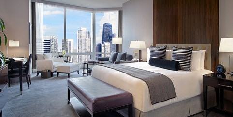 Luxurious River North Hotel W 50 In Exclusive Extras Chicago