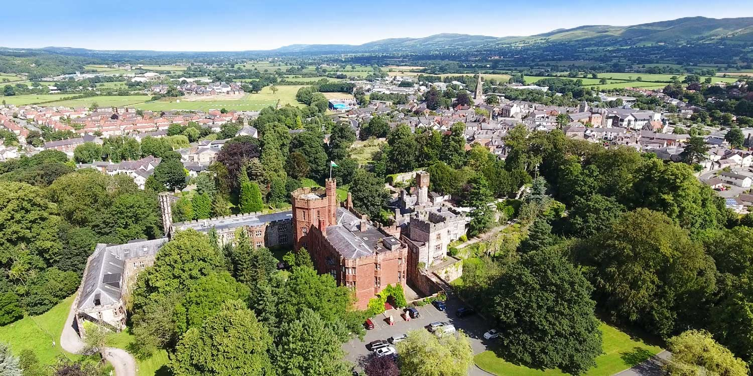 Castle stay in Wales inc bubbly & cream tea, was £209