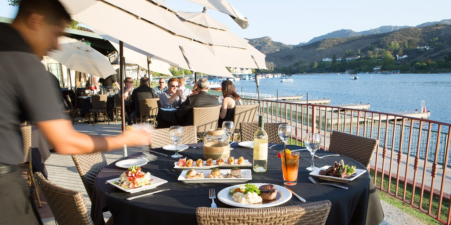 $19 & up -- Waterfront Lunch or Dinner in Westlake Village