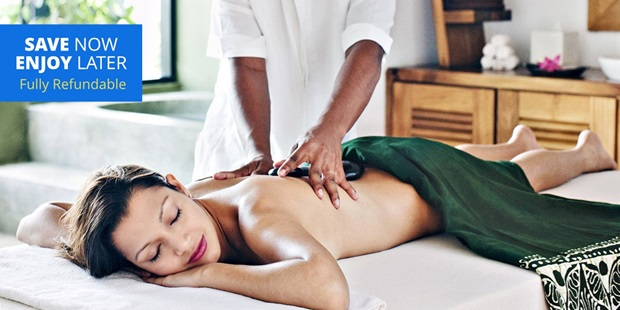 Escape to the 4-star Newport Beach Marriott Hotel and treat yourself to a serene spa day for 40% off. SAVE NOW, ENJOY LATER. Our voucher deals let you buy now at these fantastic prices, then book your experience when you're ready. And with our flexible 100% refundable policy, you'll have plenty of time to decide.