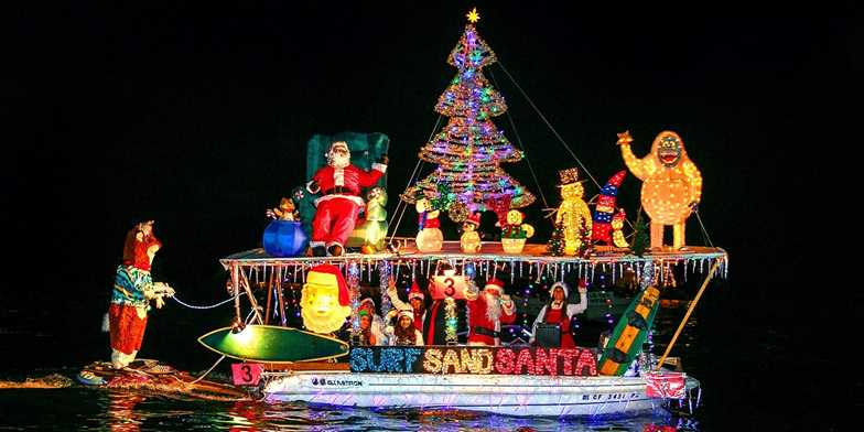 Newport Beach Holiday Lights Or Boat Parade Cruise For 2