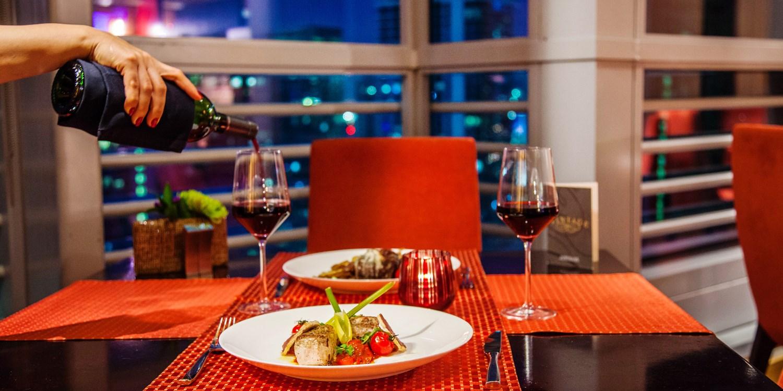 'Miami's Top View:' 'Superb' Dinner w/Wine at the Conrad