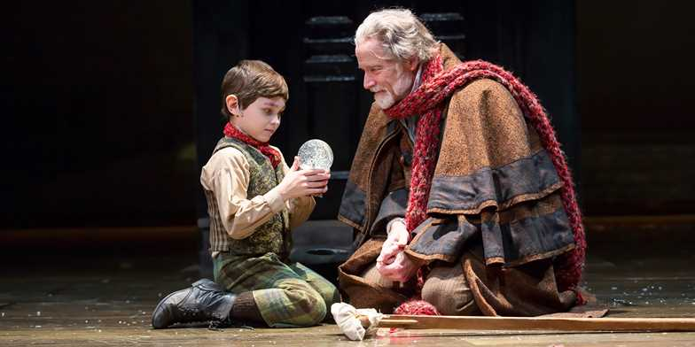 see a christmas carol at mccarter theatre