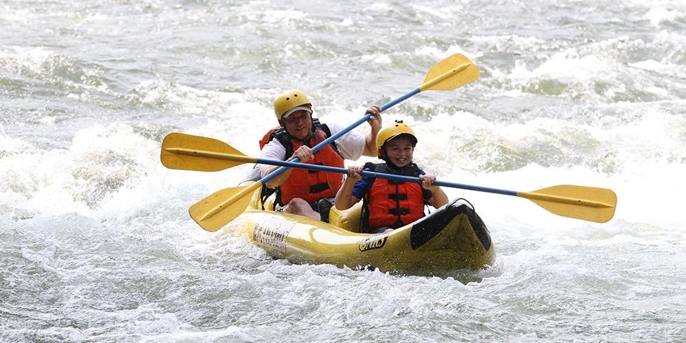 $49 & up – Choose an Outdoor Adventure: Zip Line or Rafting