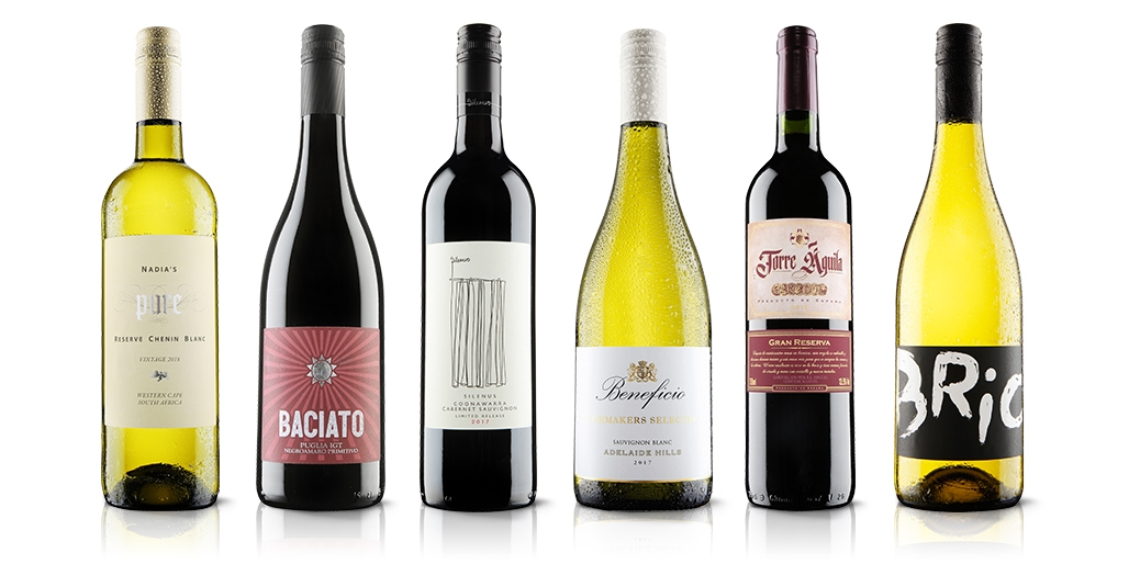 6 bottles of wine: red or mixed case (exc P&P)
