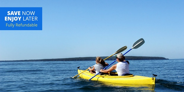 Grab a friend and paddle around Pillar Point Harbor in a single or double kayak or on stand-up paddleboards for half the regular price.