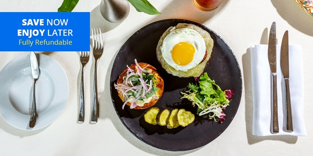 Frommer's claims rarified is the best term to describe this extremely upscale hotel restaurant. Savor American-French brunch or lunch at The Mansion Restaurant.