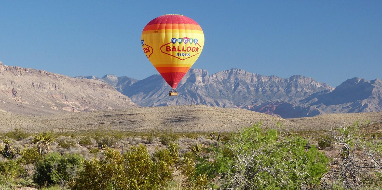 Hot Air Balloon Ride & Champagne over Vegas: $169, Reg. $275