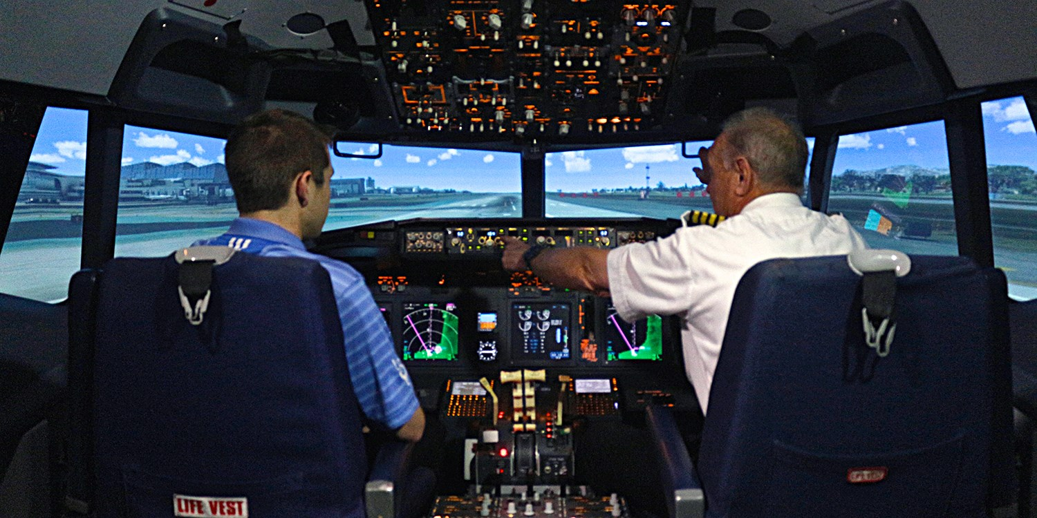 $40 -- Top-Rated Boeing 737 Simulator Experience, 55% Off