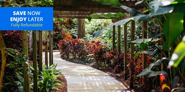 Sunken Gardens is a cool oasis amid St. Pete's urban clutter (Fodor's). Through 2021, Travelzoo members save 50% on admission for two.