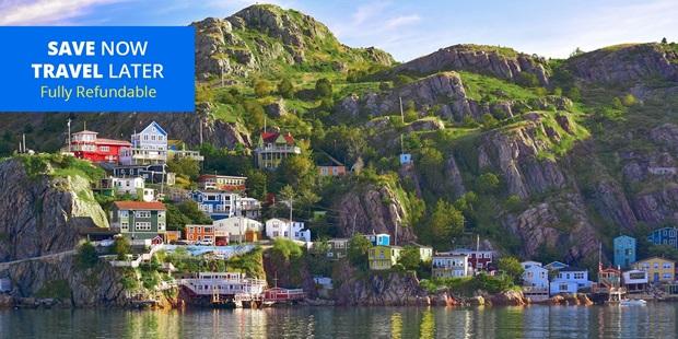 Save 50% on stays through 2021 at this waterfront hotel in picturesque St. John's with our deal that includes parking and late checkout.