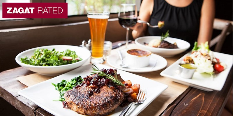 60% Off Dinner w/Drinks at Zagat-Praised Sun in My Belly