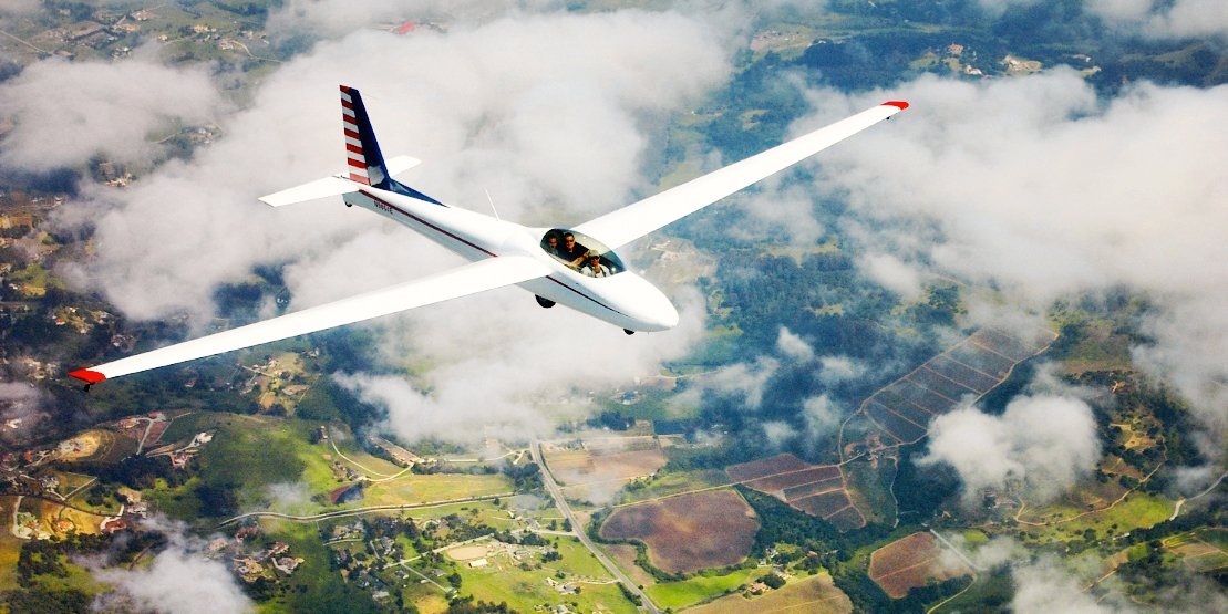 $150 -- Scenic Glider Flight w/Ocean Views, Half Off
