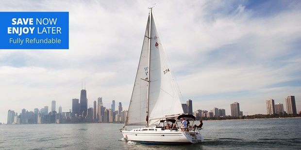 Travelzoo members can add sailing the waters of Lake Michigan to their summer bucket lists — Chicago Sailboat Charters is offering 50% off sailboat cruises into September.