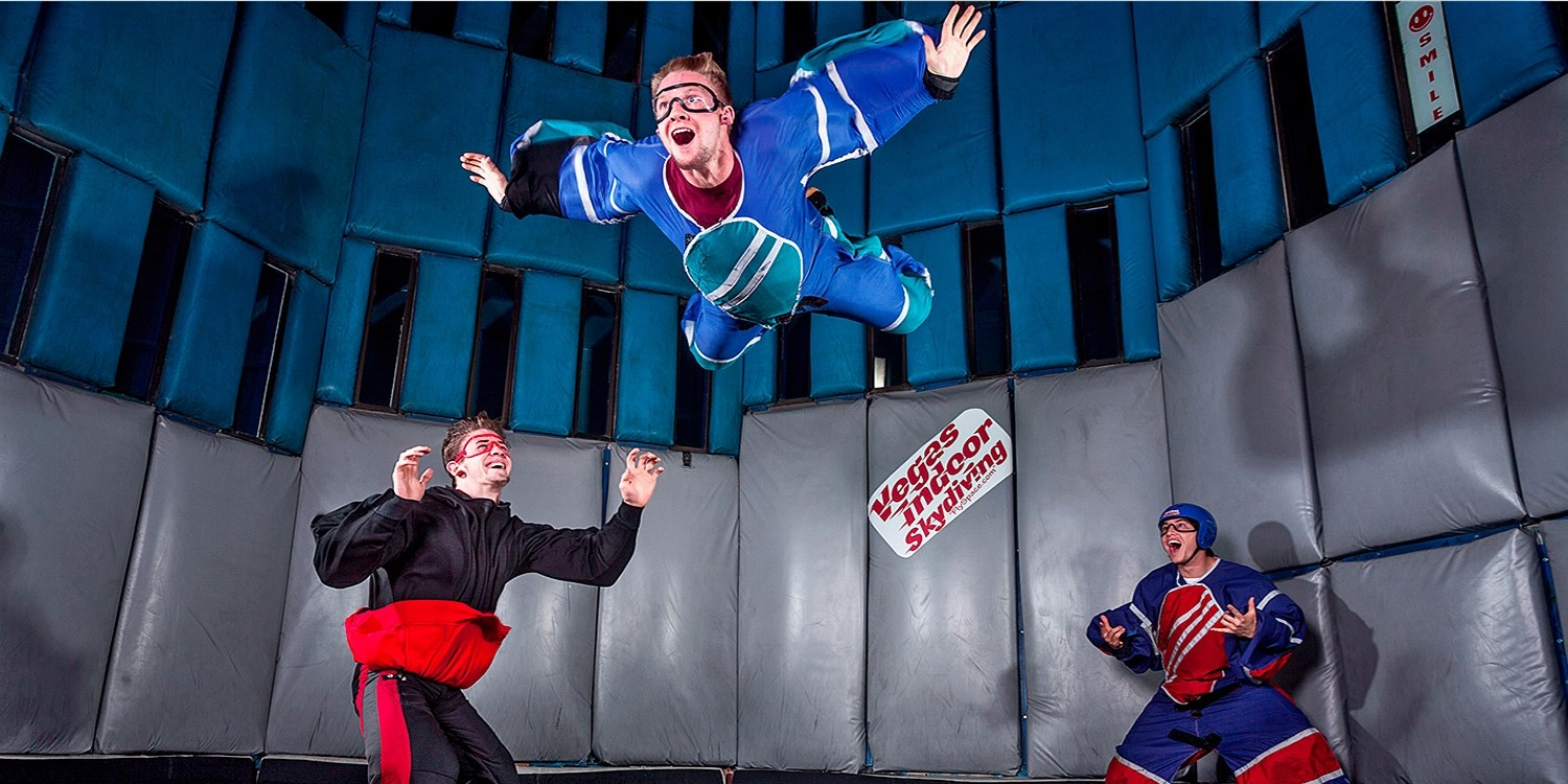 $59 -- Thrilling Indoor Skydiving Experience, Reg. $105