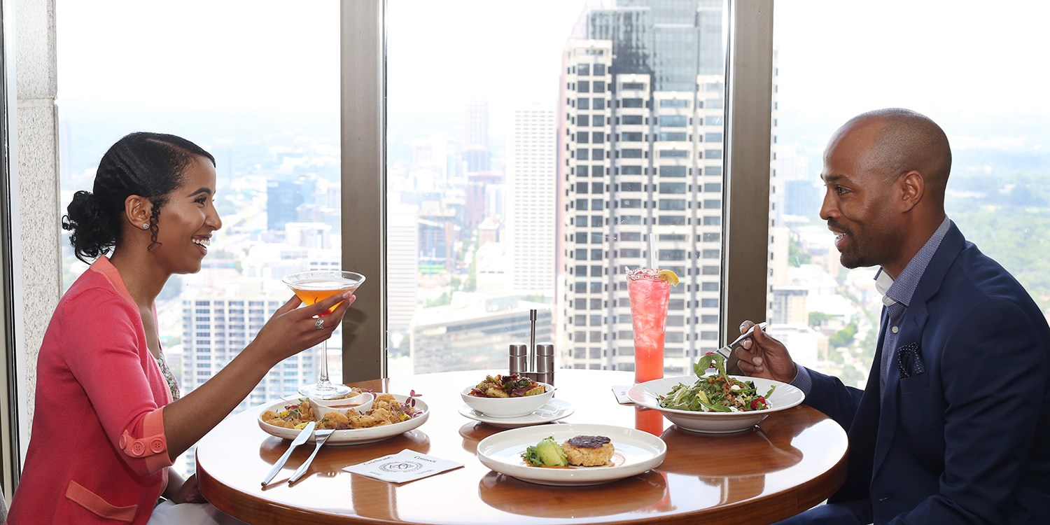 79 Dinner For 2 At Private Downtown Club With Skyline