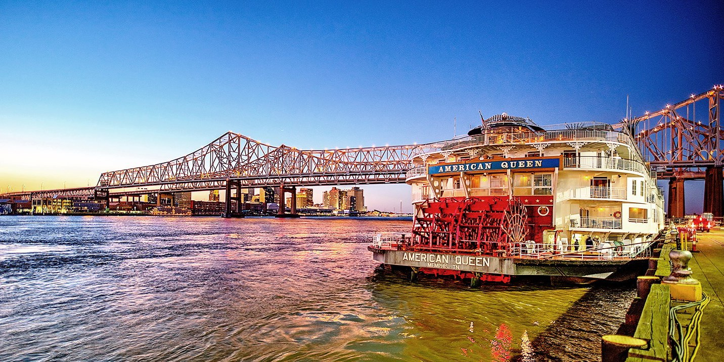 $2099 -- Holidays: Cruise the Mississippi River on American Queen