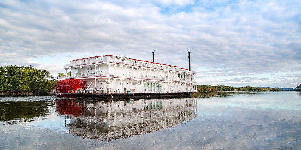 $999 & up -- Mississippi River: Cruise America's Waterways by Riverboat
