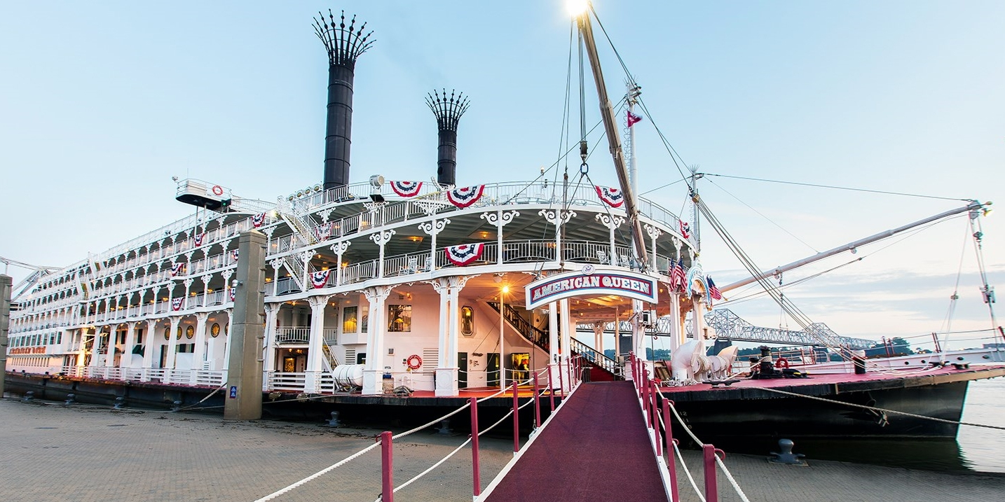 $1599 & up -- Cruise American Queen on the Mississippi River, Save $1000