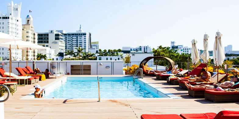 Miami Beach 4 Star Hotel Near Lincoln Road 4th Night Free Travelzoo
