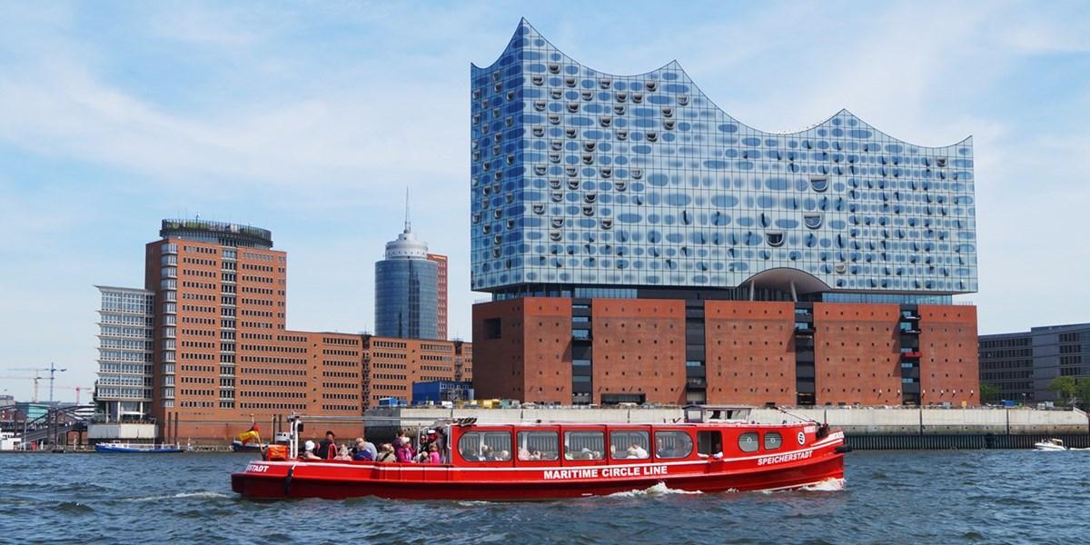 90-minütige Rundfahrt durch den Hamburger Hafen, -44%