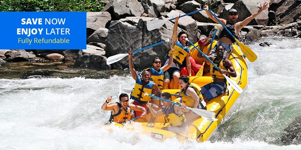 Take the family on an adventure and ride down Class III rapids, great for beginners or intermediate rafters, on the American River and Coloma-Lotus Valley.