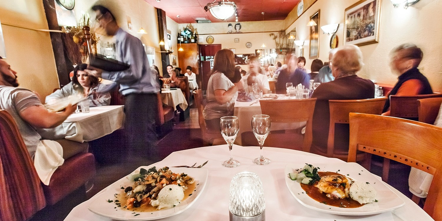$29 & up -- Burlingame: Italian Dining for 2 at Café Figaro