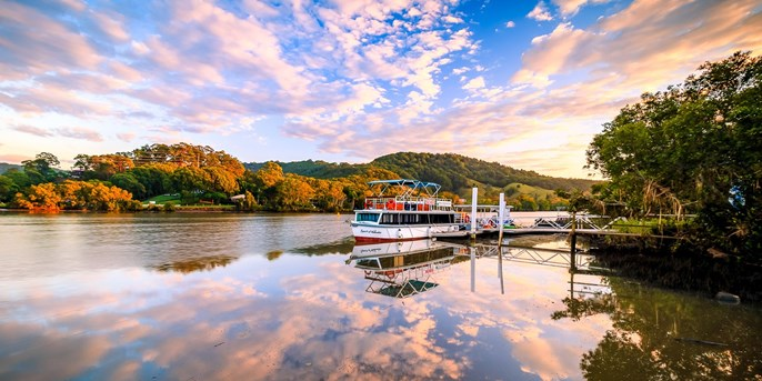 $139 -- Tweed Valley: 5 Course Seafood Cruise + Drinks for 2