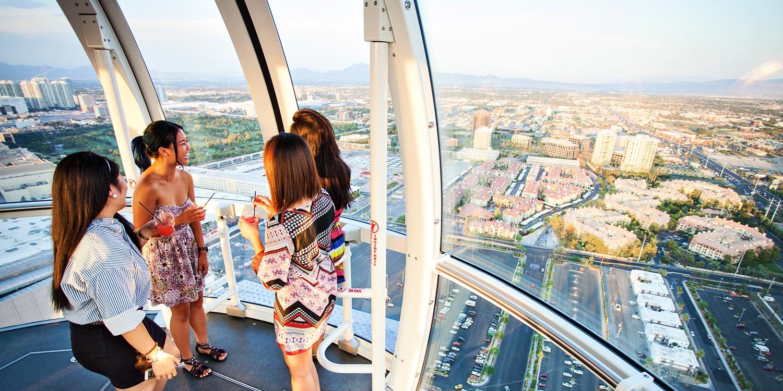 35 Vegas High Roller Observation Wheel W Open Bar