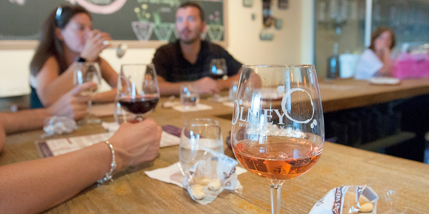$23 -- Olney Winery: Tastings for 2 w/Wine Credit, 40% Off