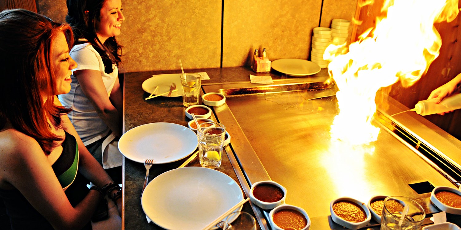 Sizzling Hibachi Dinner at Resort District Hot Spot