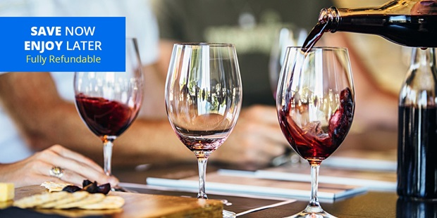 Williamson Wines in downtown Healdsburg earns over a 90% approval rating from Travelzoo members — perfect pairings with food and generous wine pours, one member describes.